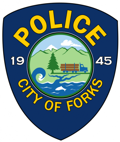 Forks Police Dept. Badge